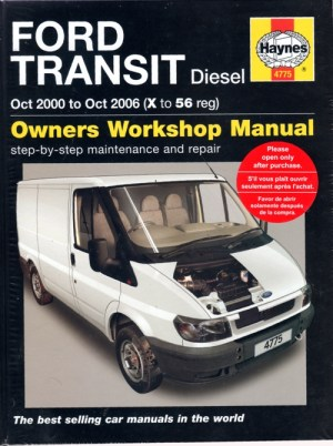 Ford Transit Diesel 20002006 Haynes Service Repair Manual