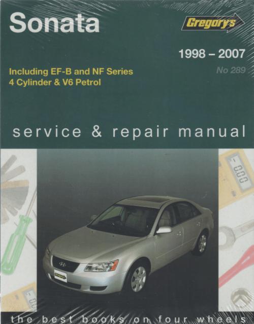 small resolution of hyundai sonata 1998 2007 gregorys service repair manual