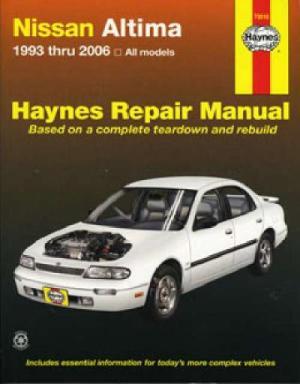 Nissan Bluebird ( Altima) 19932006 Haynes Service Repair