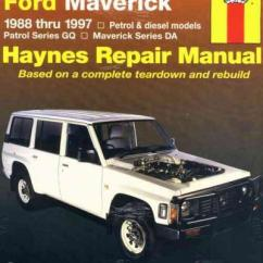 Nissan Patrol Alternator Wiring Diagram Speakers In Series Gq Ford Maverick Da 1988 1997 Haynes Service Repair Manual - Sagin Workshop Car ...