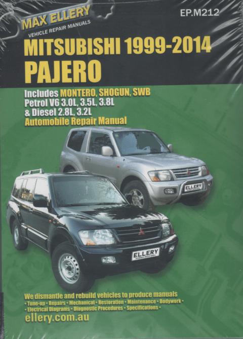 mitsubishi pajero wiring diagrams 2007 ford focus car stereo diagram 2000-2014 petrol diesel repair manual - sagin workshop manuals,repair ...