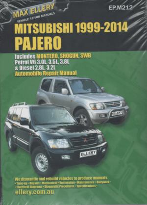 Mitsubishi Pajero 20002014 Petrol Diesel repair manual
