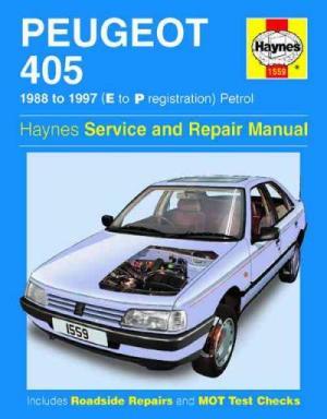 Peugeot 405 Petrol 1988 1997 Haynes Service Repair Manual