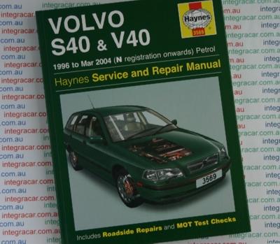 2003 Harley Wiring Diagram Volvo S40 And V40 Service And Repair Manual Haynes 1996