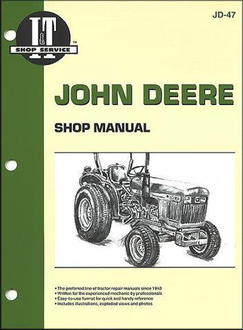 John Deere Farm Tractor Owners Service Amp Repair Manual