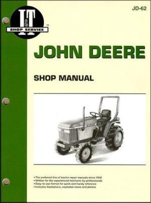 John Deere Farm Tractor Owners Service & Repair Manual  sagin workshop car manuals,repair books