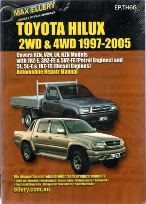 Toyota HiLux Petrol Diesel 19972005 Ellery Service Repair