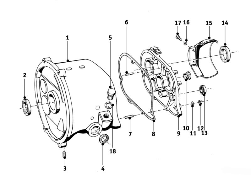 BMW Motorcycles Factory Workshop Manual R26 R27 (1956-1967