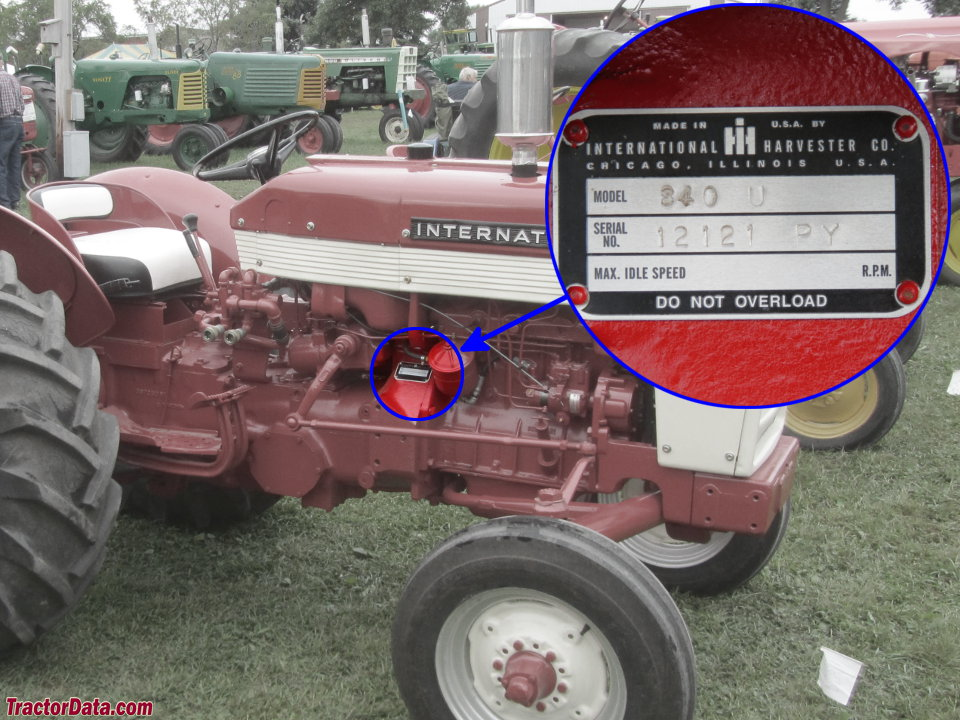 International M Tractor Engine Diagram