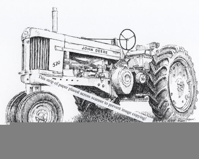 John Deere Farm Tractor Owners Service & Repair Manual
