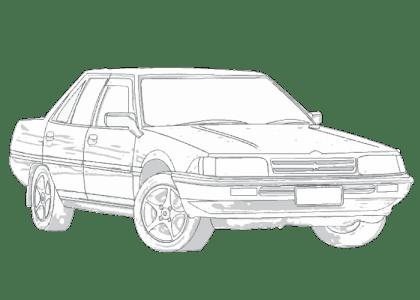 Mitsubishi Magna TN 1987 1989 Gregorys Service Repair