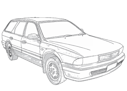 Mitsubishi Magna TR TS Gregorys repair manual 1991-1996