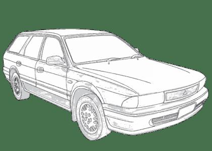 Mitsubishi Magna TR TS Gregorys repair manual 1991-1996