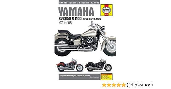 Yamaha XVS650 and 100 Dragstar/V-Star Service and Repair