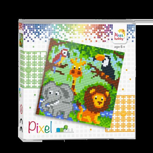 44001 pixel dierenrijk