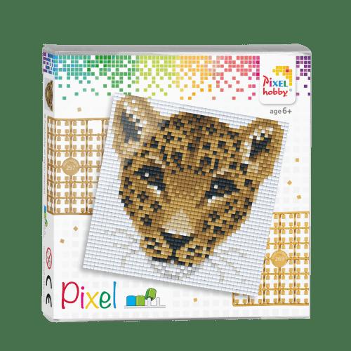 44020 pixel luipaard