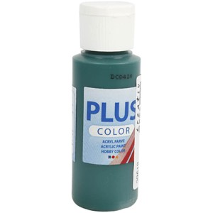 plus color acrylverf dark green