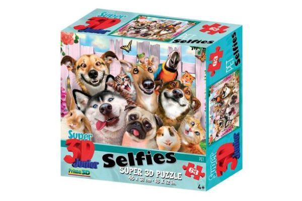 Prime 3D puzzel selfie huisdieren