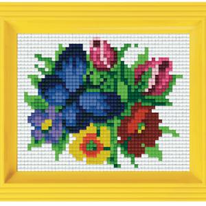 31334 geschenk set pixel vlinder bloemen