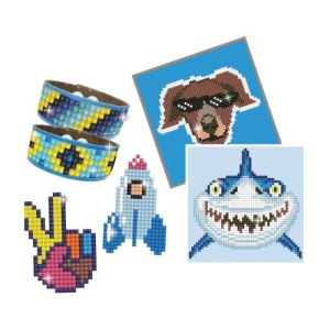 Diamond dotz dotzies boy set blue