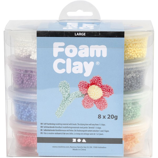 Set Foam Clay Large
