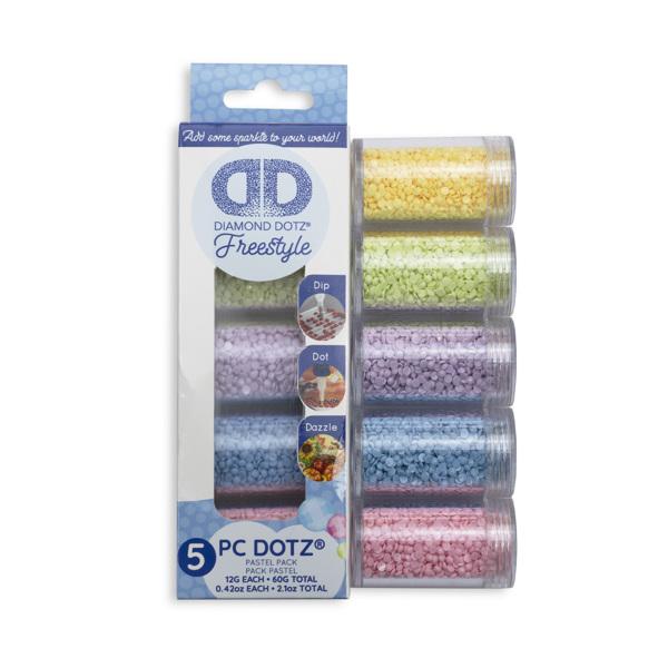 Diamond dotz set pastel