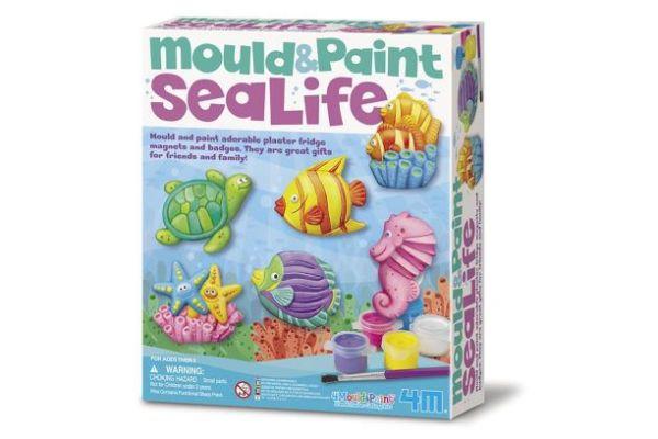 gips en verf magneten zeeleven