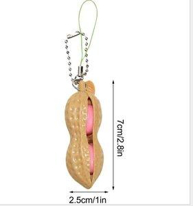 pinda fidget sleutelhanger