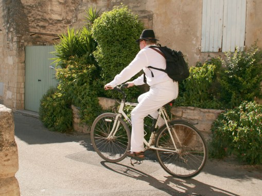 Bicycling Through France