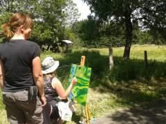 Een heerlijke 6-daagse workshop Landschapschilderen (vanaf € 595,-)