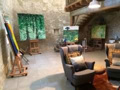 Speciale schilderworkshop back to basics in de stilte op het Franse platteland.