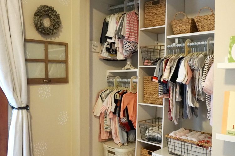 A DIY Project: Nursery Closet Reno For $300