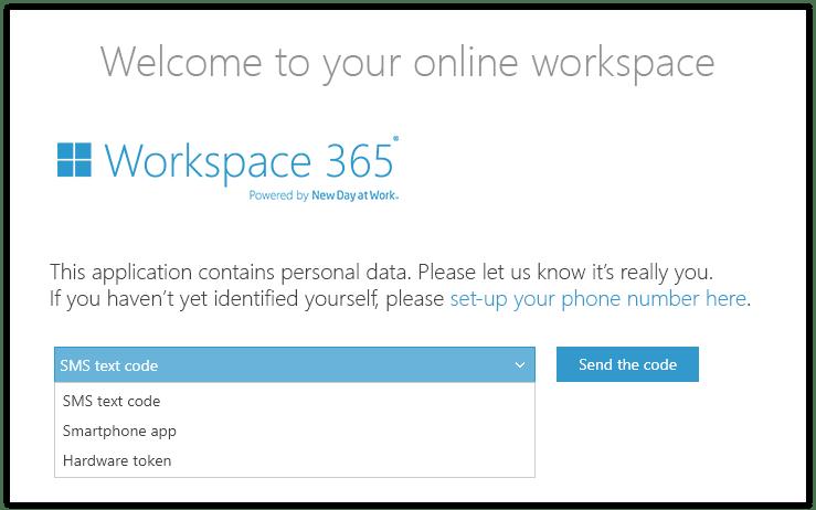 Multi Factor Authentication in Workspace 365 zonder Azure - your digital workspace