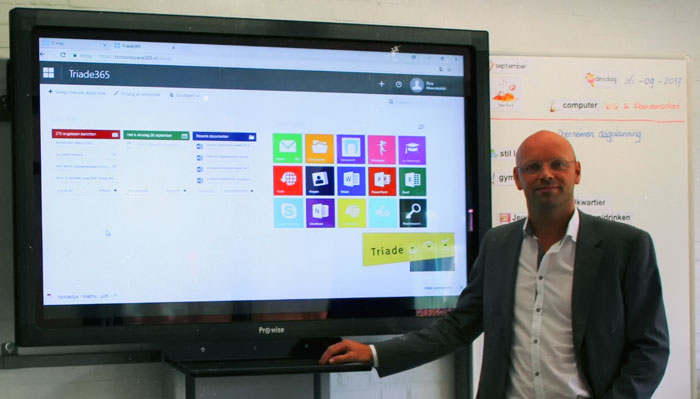 Elementary schools of Stichting Triade ahead of the curve with virtual workspaces