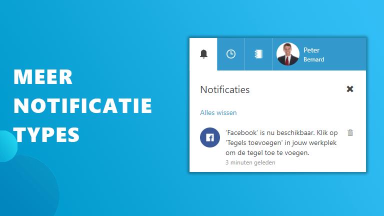 Meer notificatietypes Workspace 365