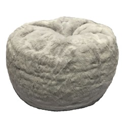 Bean Bag Chairs Canada Chair Covers Doncaster For Adult Fur Round Arctic Fox Order Today