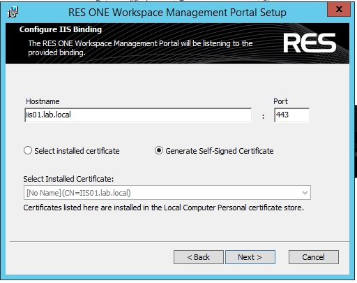 Step by Step installing RES One Enterprise Workspace