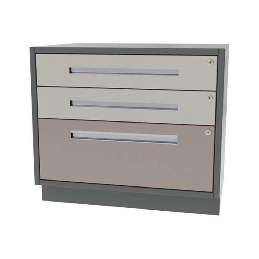 THREE DRAWER U2013 TWO DRAWER / ONE FILE / WIDE WIDTH BASE CABINET