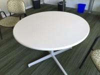Steelcase Round Tables Vanadium Fiber - Office Furniture ...