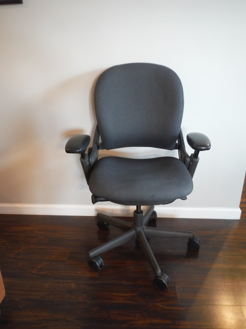steelcase leap chair relax the back mobility lift v1 task grey office furniture albany ny