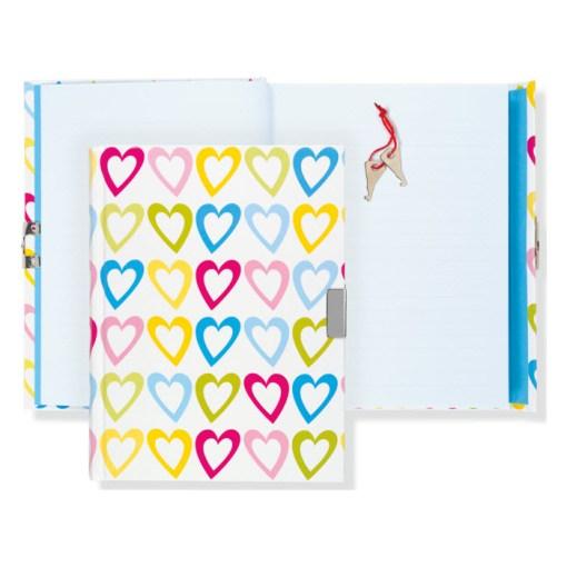 dagbog med lås