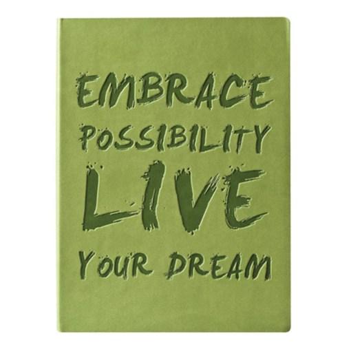 Lev Drømmen Ud - inpirerende notesbog