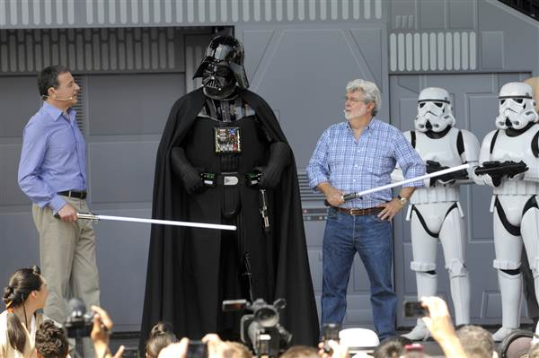 Stjernekrigen blev til i George Lucas notesbog