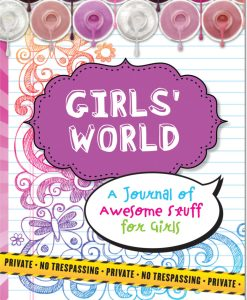Dagbog med lås Girls World