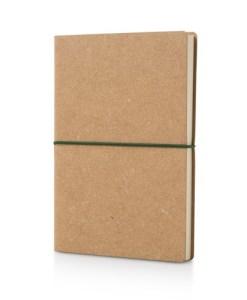 Notesbog genbrugslæder a5