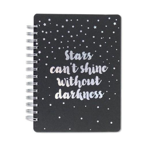 Stars cant shine notesbog