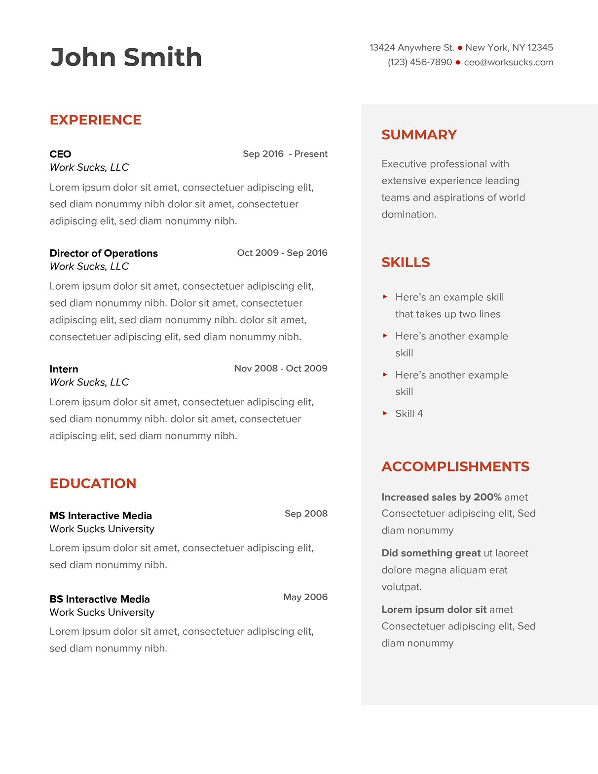 How To Make A Resume Using Google Docs Free Google Docs Resume Template Work Sucks