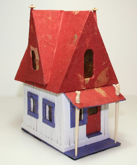 Little Book House Red Roof by Susi Hall