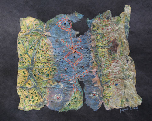 Textile Fragment II by Susi Hall