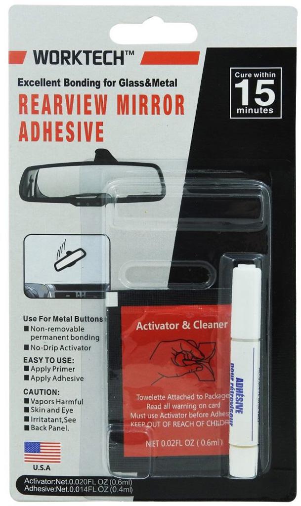 Rear View Mirror Glue Kit